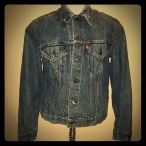 Levis strauss denim button up jacket(unisex)👫🏻